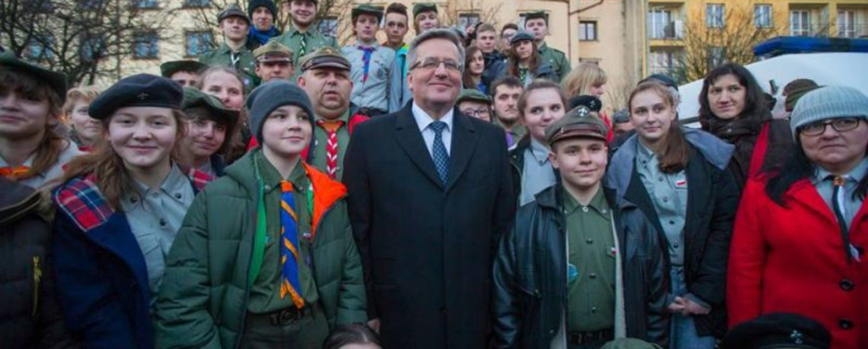 Spotkanie Ostrowieckich harcerzy z Prezydentem RP