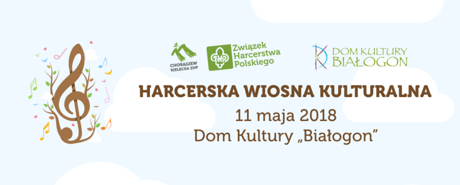 Harcerska Wiosna Kulturalna 2018 – wojewódzkie przeglądy zespołów wokalnych, wokalno-instrumentalnych, instrumentalnych oraz wokalistów