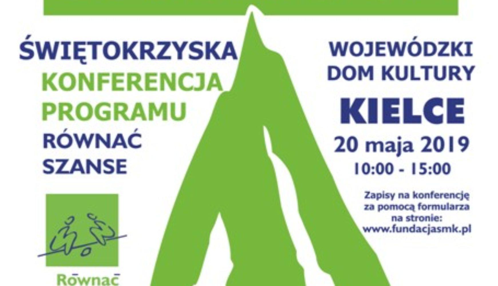 """Konferencja i konkurs grantowy """"Równać Szanse"""""""