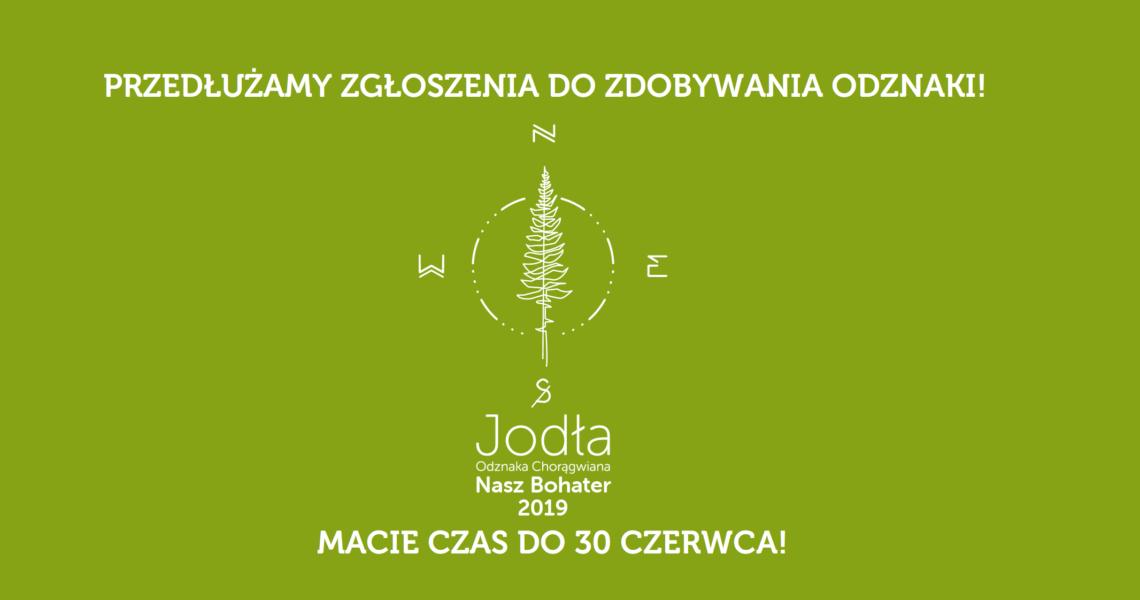 """Przedłużamy zgłoszenia do zdobywania Odznaki Chorągwianej """"Jodła"""" 2019"""
