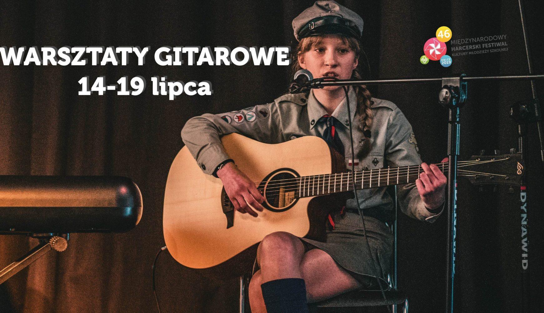 Warsztaty gitarowe 14-19.07.2019 r.