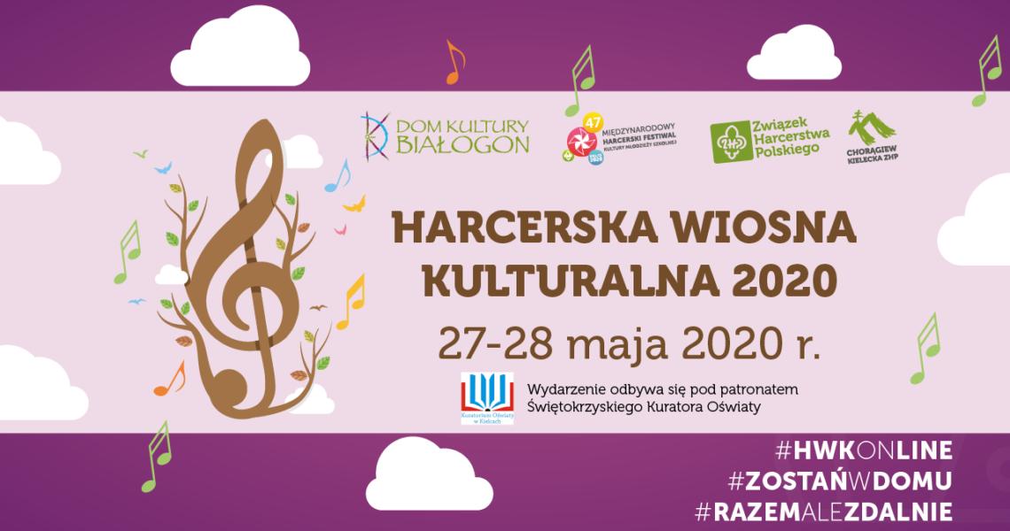 Znamy laureatów Harcerskiej Wiosny Kulturalnej On-Line 2020!