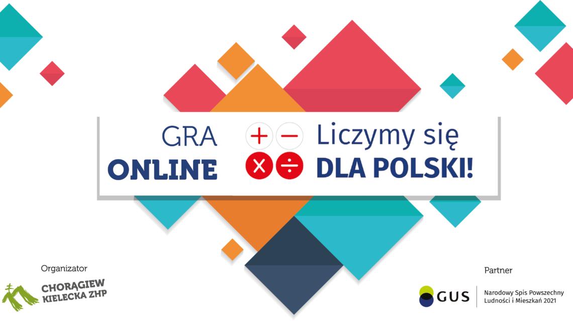 """Wyniki Gry Online """"Liczymy się dla Polski"""" 2021"""