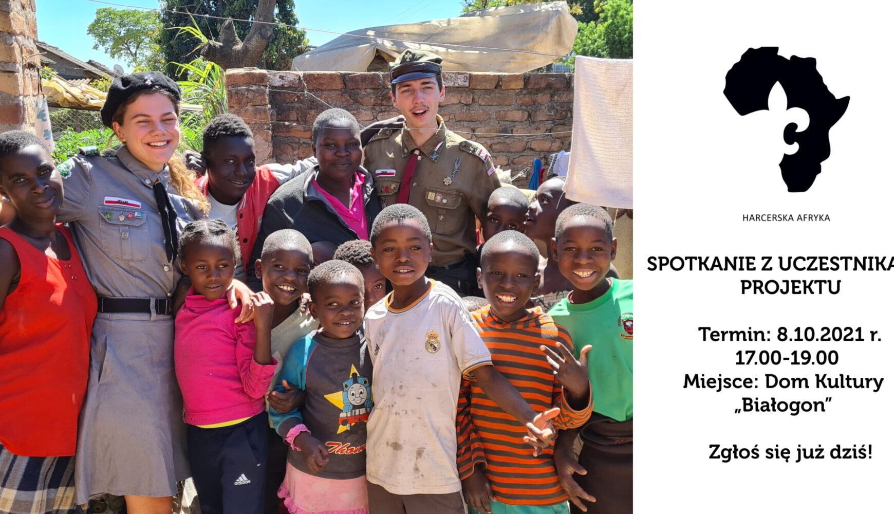 Spotkanie z uczestnikami projektu Harcerska Afryka